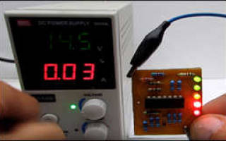 Простейший индикатор уровня заряда батареи — Своими Руками
