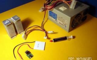 Элемент Пельтье он же термоэлектрический модуль — Своими Руками