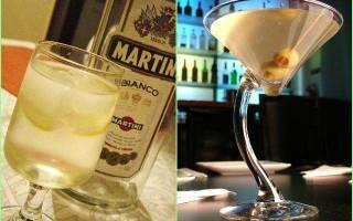 Самый простой коктейль с мартини — Своими Руками
