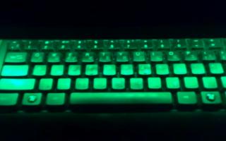 Простая подсветка клавиатуры своими руками — Своими Руками